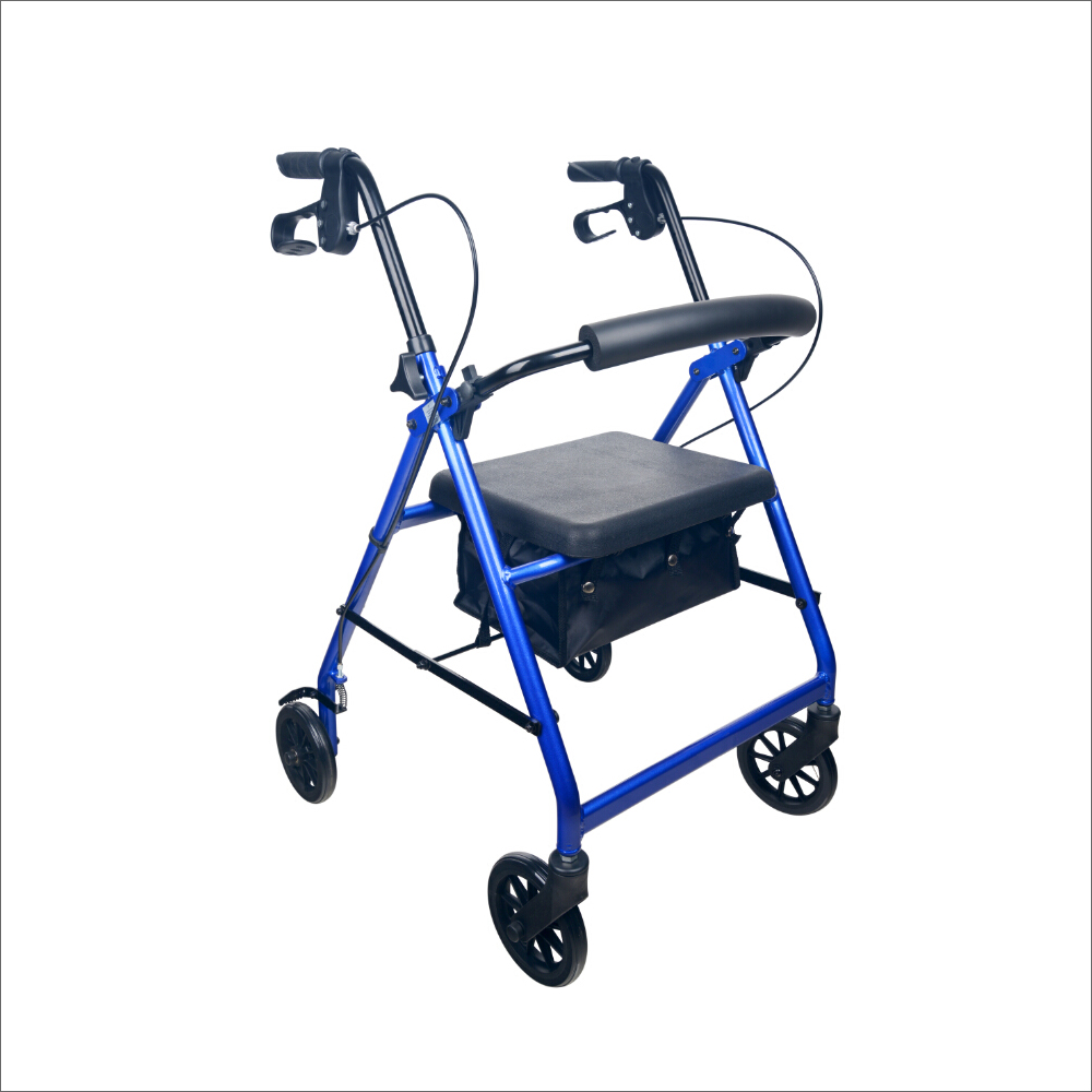 Seat Walker - Rollator - Four Wheeled Walker